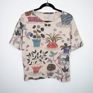 Gudrun Sjoden Potted Plant Print Tee K6